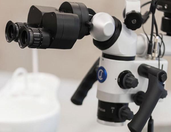 mikroskop kanal tedavisi